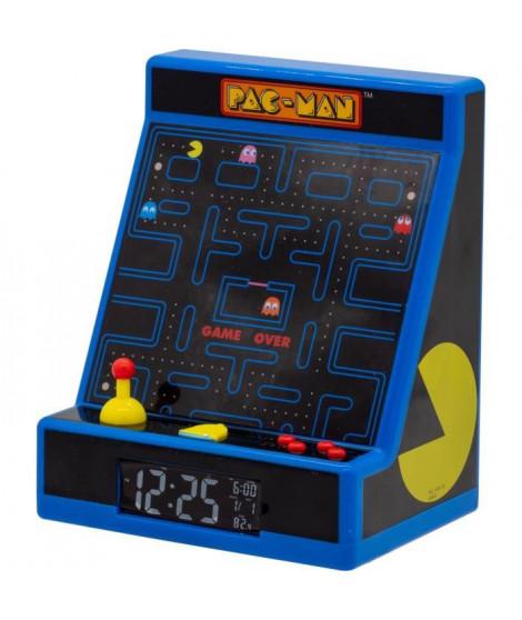PACMAN Réveil Arcade - Bleu