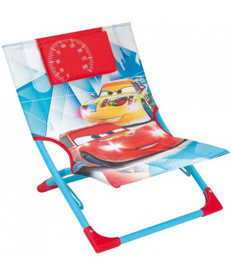 Fun House Disney Cars chaise de plage - transat pour enfant