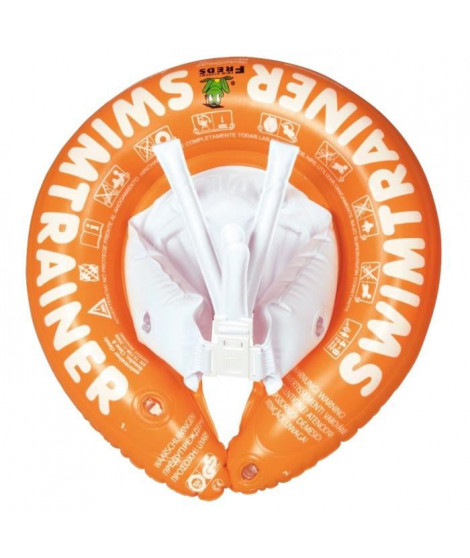 Freds Swim Academy Bouée bébé Swimtrainer Orange - 2 a 6 ans