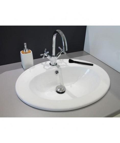 Vasque en porcelaine Zoé Blanc