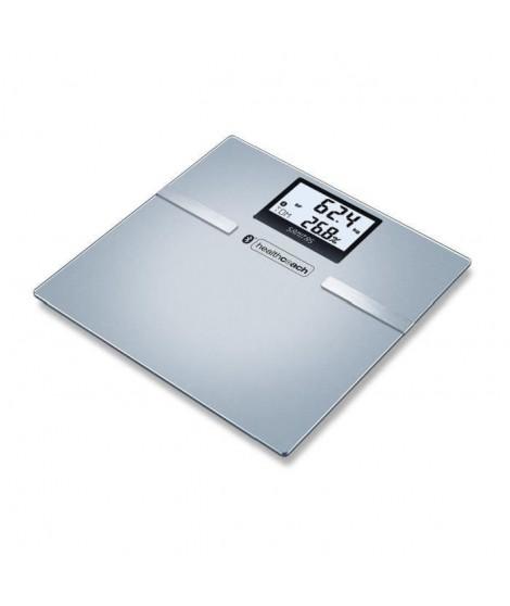 SANITAS SBF 70 -  Pese-personne impédancemetre en verre - Bluetooth