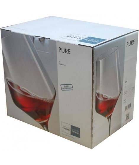SCHOTT ZWIESEL Boîte de 6 verres a cabernet Pure - 55 cl