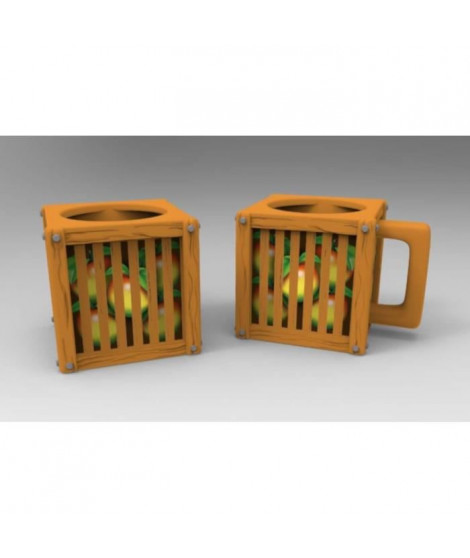 Mug Crash Team Racing - Caisse de Fruit Wumpa - Numskull