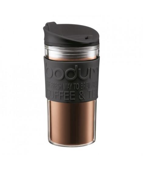 BODUM TRAVEL MUG Mug de voyage isotherme - 0,35 L - Noir