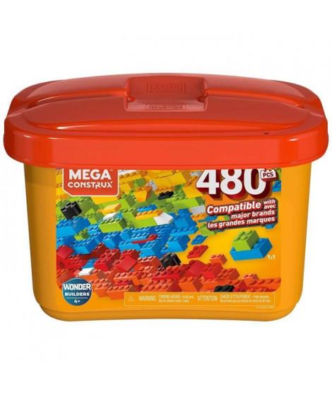 Mega Bloks - Mega Bloks Mega Construx Kid Builders Bulk Tub ? Small  - 4 ans et +