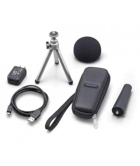 Zoom APH-1n Pack d'accessoires pour H1n comprenant : adaptateur secteur, support trépied de table, bonnette mousse, câ