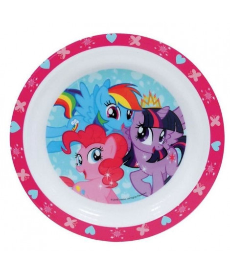 Fun House My Little Pony assiette micro-ondable pour enfant