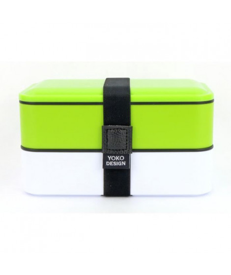 YOKO DESIGN Lunch box 2 étages - Coloris vert - 1200 ml