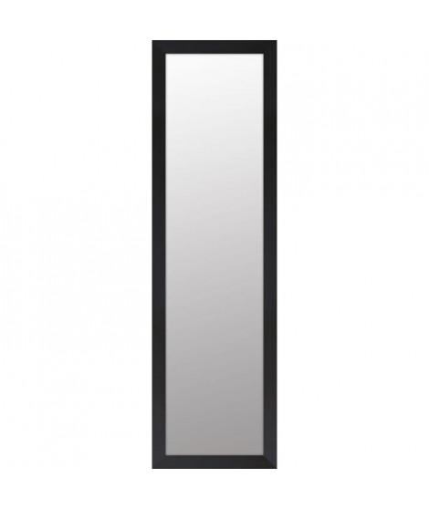 BASIC Miroir rectangulaire 30x120 cm Noir