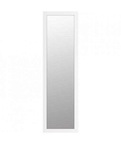 BASIC Miroir rectangulaire 30x120 cm Blanc