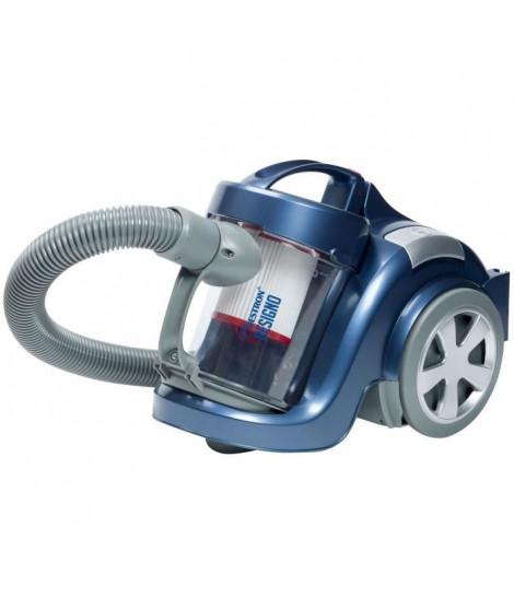 BESTRON Aspirateur sans sac ABL870BS - Classe énergétique A - Bleu métallique