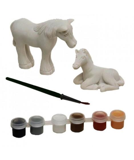 MELISSA & DOUG Réalise Ta Propre Décoration : Figurines De Cheval