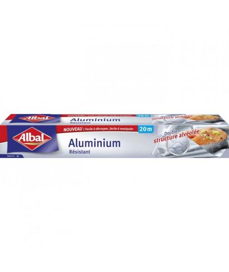ALBAL Rouleau en aluminium - 20 x 0,295 m