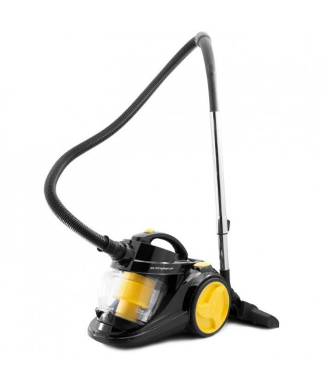HARPER - SKOOP_YELLOW_ERP -  Aspirateur sans sac cyclonique - 800W - 3L - 16 kpa - Jaune