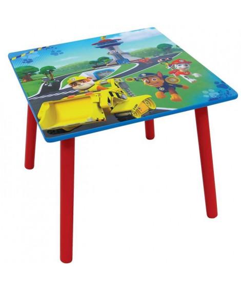 Fun House Pat Patrouille table carree + tabouret pour enfant