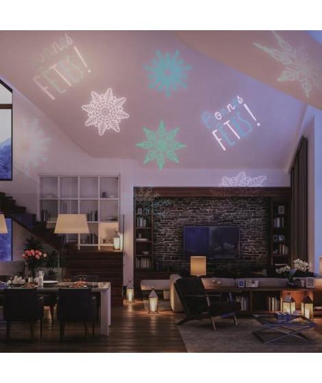 Projecteur LED de Noël d'extérieur - Disque