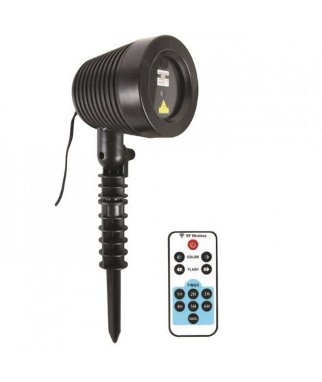 Projecteur Laser de Noël d'extérieur + télécommande