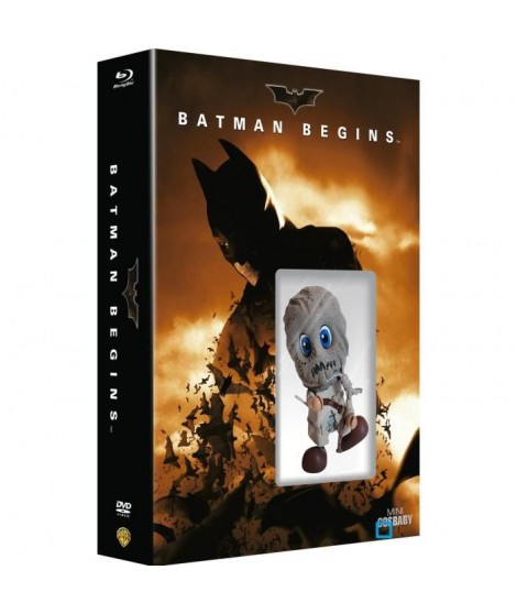 BLURAY BATMAN BEGINS + COSBABY EPOUVANTAIL
