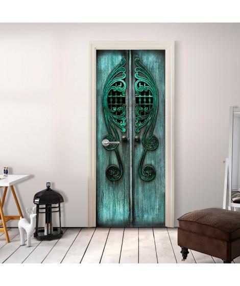 Papier-peint pour porte - Emerald Gates