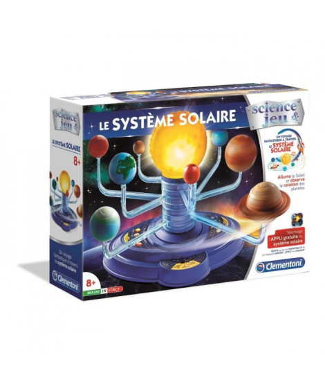 CLEMENTONI Science & Jeu - Le Systeme Solaire - Jeu scientifique