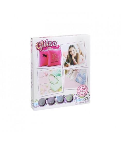 GLITZA ART Tatouage Simply Girly - 100 Designs