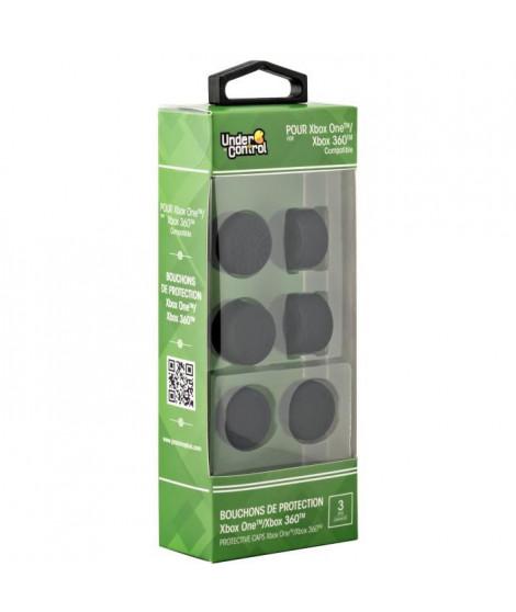 Pack de 6 bouchons de protectionUnder Control pour Xbox One et Xbox 360