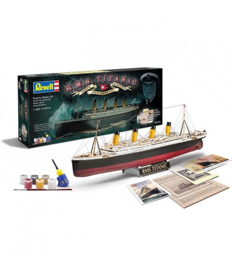 REVELL Maquette Bateaux 100 ans du Titanic (Edition spec 05715)