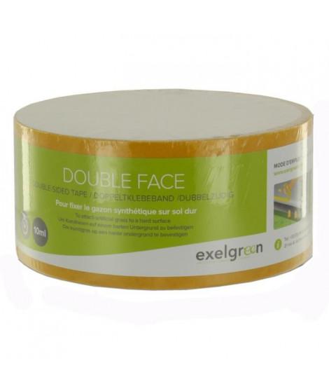 EXELGREEN Rouleau de bande adhésive double face pour gazon synthétique - 10 ml