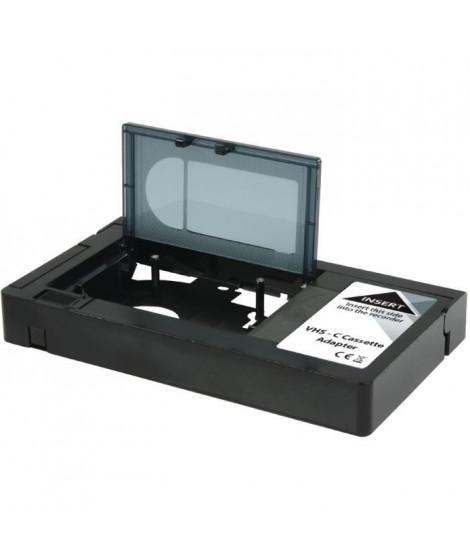 KONIG KNVHSCADAPT Convertisseur VHS-C - Noir