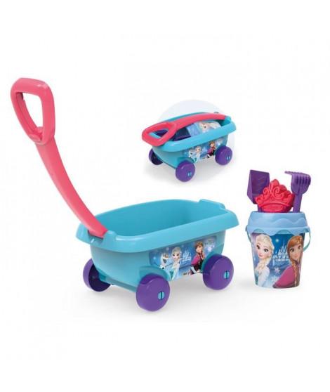 LA REINE DES NEIGES Smoby Chariot De Plage Garni - Disney