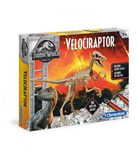 CLEMENTONI - Archéo Ludic Jurassic World - Velociraptor