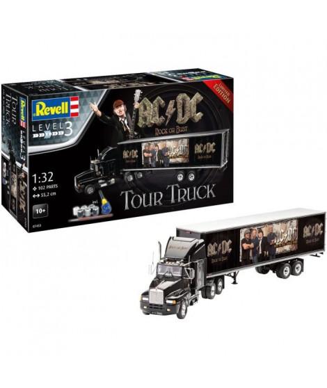 """REVELL Maquette Camions Coffret cadeau """"AC/DC"""" Tour truck 07453"""