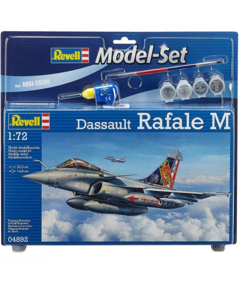 REVELL Maquette Model set Avion Dassault Aviation Rafa 64892