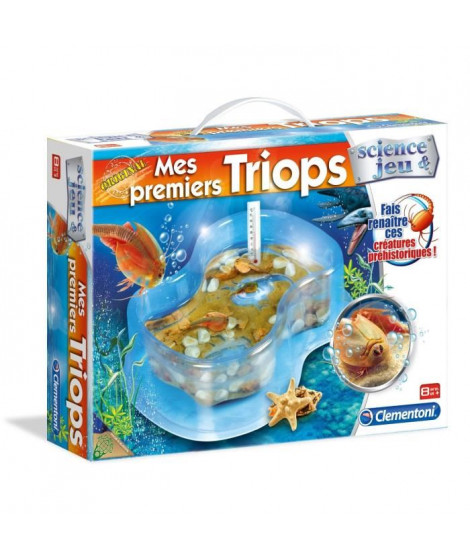CLEMENTONI Science & Jeu - Mes premiers Triops - Jeu scientifique