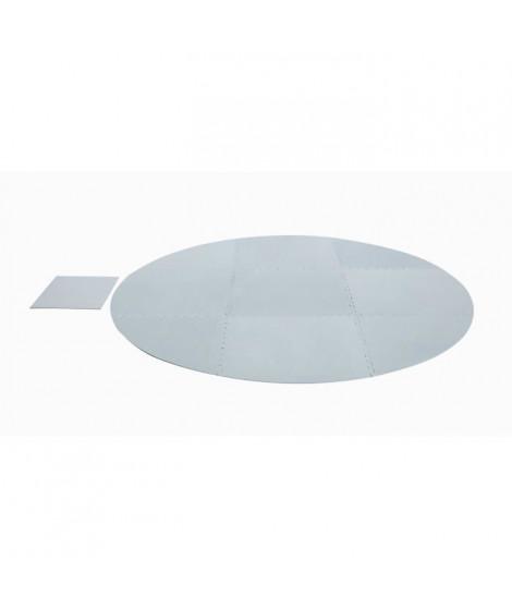 BESTWAY Lot de 10 tapis de sol pour Spa rond - Ø 211 cm