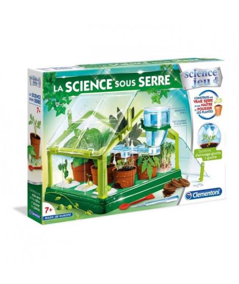 CLEMENTONI Science & Jeu - La Science Sous Serre - Jeu scientifique