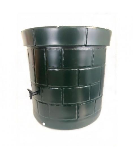 Puit recuperateur d'eau PEHD - 340 L - Vert foncé