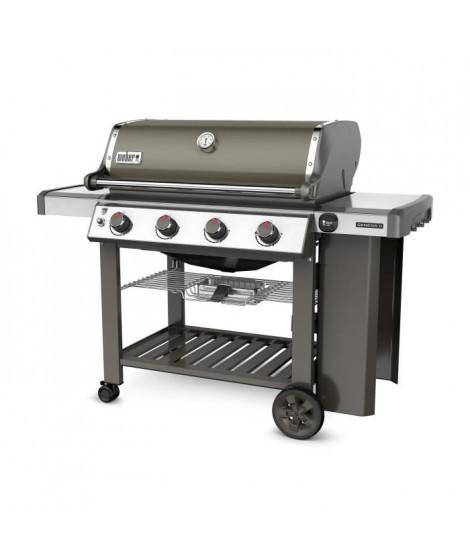WEBER Barbecue a gaz Genesis II E-410 GBS - Acier émaillée - Gris fumée