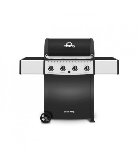 BROIL KING Barbecue a gaz 4 feux Crown Cart 410 - En fonte - 2865cm²