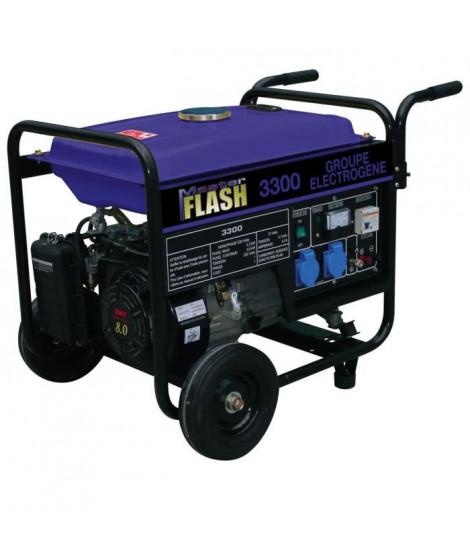 MASTER FLASH Groupe électrogene a essence 3300W avec kit chariot MF3300