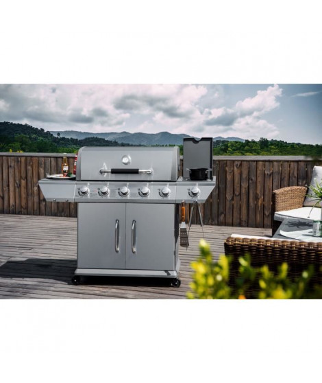 COOKING BOX Barbecue a gaz DUKE - 5 Feux + side