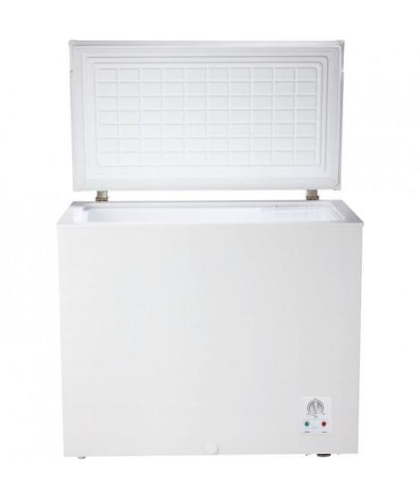CONTINENTAL EDISON CECC205AP2-Congélateur coffre-194 L-Froid statique-A+-L 89 x H 84 cm-Blanc