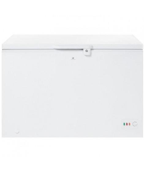 CONTINENTAL-EDISON CC295APP - Congélateur coffre - 301L - Froid statique - A++ - L 128cm x H 85cm - Blanc