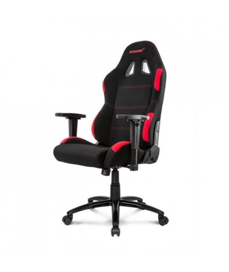AKRACING Series Core EX-WIDE - AKEXWIBKRD - Siege Confort pour Gamer en tissu - Noir/Rouge
