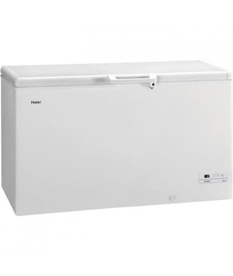 HAIER - BD429RAAE - Congélateur coffre - 429L - Froid Statique - A+ - L141cm x H84,5cm - Blanc