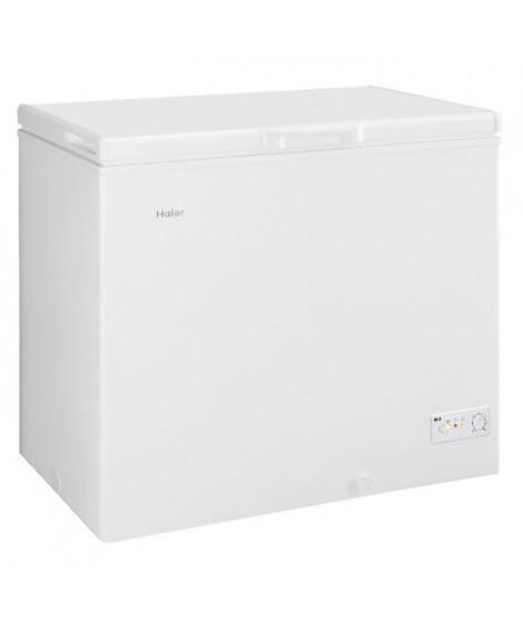 HAIER BD203RAA - Congélateur coffre - 203L - Froid statique - A+ - L 94cm x H 84,5cm - Blanc