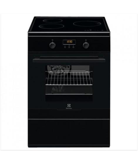 ELECTROLUX EKI66700OK - Cuisiniere table induction-3 foyers- commandes tactiles - Four électrique-Pyrolyse-chaleur pulsée-54L…