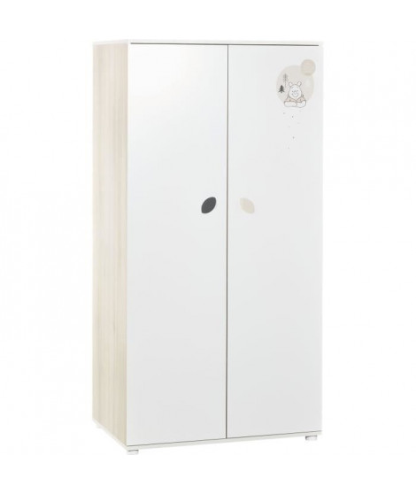 BABY PRICE - WINNIE - armoire 2 portes winter retreat