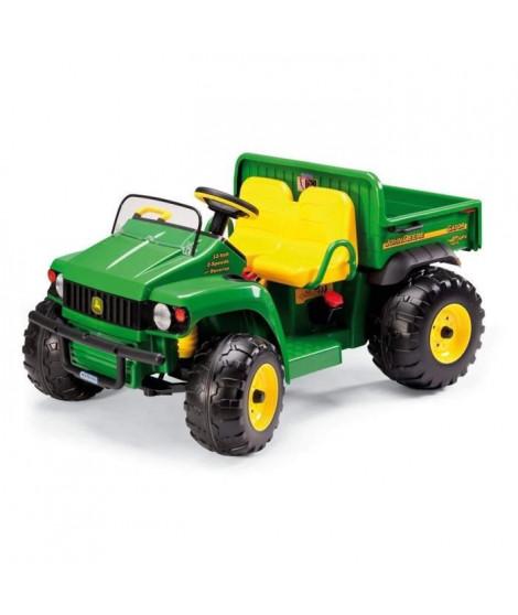 PEG PEREGO Tracteur Electrique enfant John Deere Gator HPX, avec Benne, 2 places