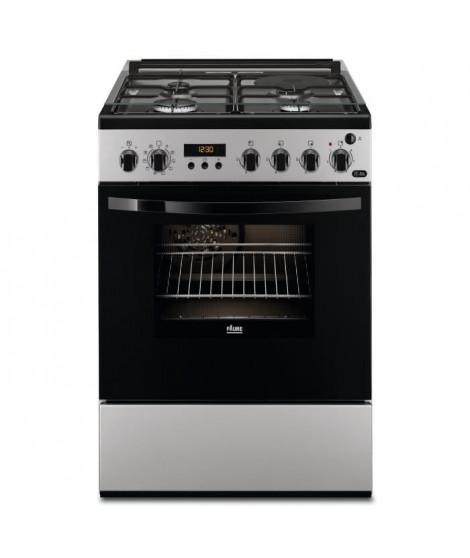 FAURE FCM656HPSA cuisiniere table mixte gaz / électrique - 4 foyers - Four électrique - Pyrolyse - 54 L - A - L 60 x H 88,9 cm